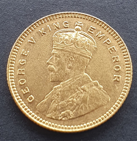 George V gold coin