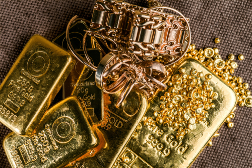 How is buying gold bullion different from gold jewellery?